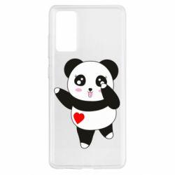 Чохол для Samsung S20 FE Cute little panda