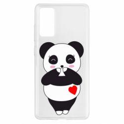 Чохол для Samsung S20 FE Cute panda