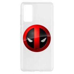 Чехол для Samsung S20 FE Deadpool Logo