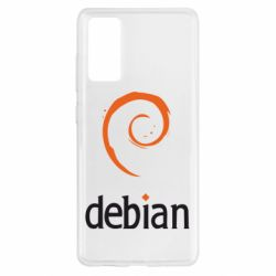 Чехол для Samsung S20 FE Debian