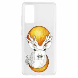 Чохол для Samsung S20 FE Deer and moon
