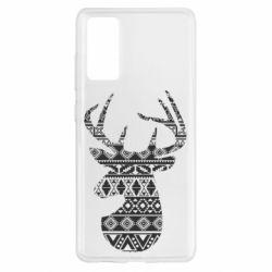 Чохол для Samsung S20 FE Deer from the patterns