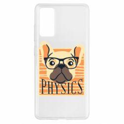 Чехол для Samsung S20 FE Dog Physicist