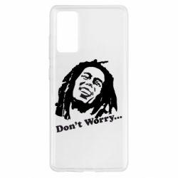 Чохол для Samsung S20 FE don't Worry (Bob Marley)