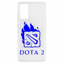 Чохол для Samsung S20 FE Dota 2 Fire
