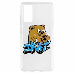 Чехол для Samsung S20 FE Drift Bear