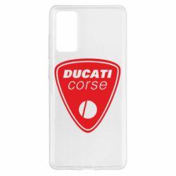 Чохол для Samsung S20 FE Ducati Corse