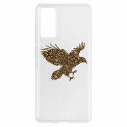 Чехол для Samsung S20 FE Eagle feather