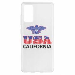 Чехол для Samsung S20 FE Eagle USA
