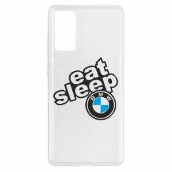 Чохол для Samsung S20 FE Eat, sleep, BMW