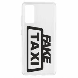Чохол для Samsung S20 FE Fake Taxi