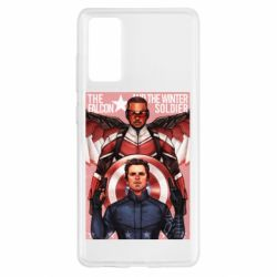 Чохол для Samsung S20 FE Falcon and the Winter Soldier Art