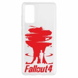 Чехол для Samsung S20 FE Fallout 4 Art
