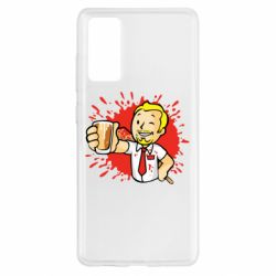Чохол для Samsung S20 FE Fallout  boy blood