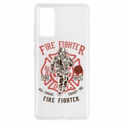 Чохол для Samsung S20 FE Fire Fighter