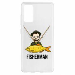 Чохол для Samsung S20 FE Fisherman and fish
