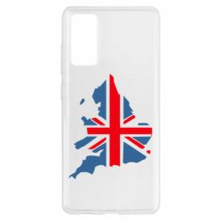 Чехол для Samsung S20 FE Флаг Англии
