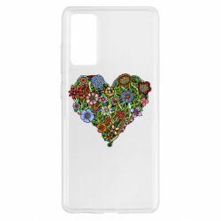 Чохол для Samsung S20 FE Flower heart
