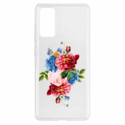Чохол для Samsung S20 FE Flowers and butterfly