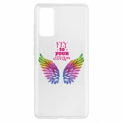 Чохол для Samsung S20 FE Fly to your dream