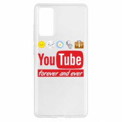 Чохол для Samsung S20 FE Forever and ever emoji's life youtube