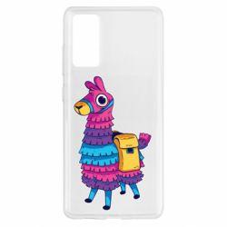 Чохол для Samsung S20 FE Fortnite colored llama