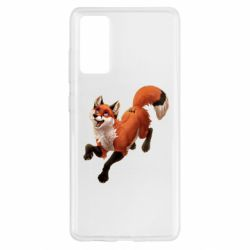 Чехол для Samsung S20 FE Fox in flight