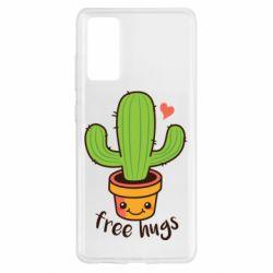 Чохол для Samsung S20 FE Free Hugs Cactus