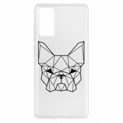 Чехол для Samsung S20 FE French Bulldog Art