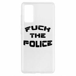 Чохол для Samsung S20 FE Fuck The Police До біса поліцію