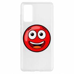 Чохол для Samsung S20 FE Funny Red Ball
