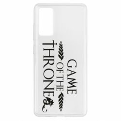 Чохол для Samsung S20 FE Game of thrones stylized logo