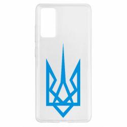 Чехол для Samsung S20 FE Герб України загострений