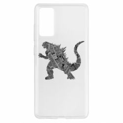 Чохол для Samsung S20 FE Godzilla from the newspapers