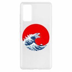 Чохол для Samsung S20 FE Godzilla Wave