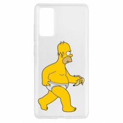 Чохол для Samsung S20 FE Гомер Сімпсон в трусиках