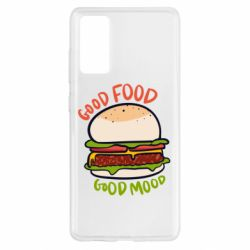 Чехол для Samsung S20 FE Good Food