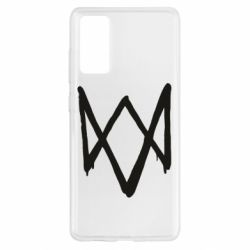 Чехол для Samsung S20 FE Graffiti Watch Dogs logo