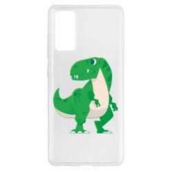 Чохол для Samsung S20 FE Green little dinosaur