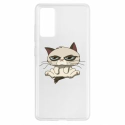 Чохол для Samsung S20 FE Grumpy Cat Art nope