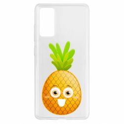 Чохол для Samsung S20 FE Happy pineapple