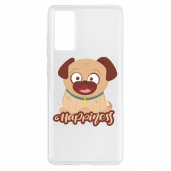 Чехол для Samsung S20 FE Happy pug