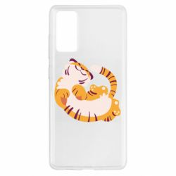 Чохол для Samsung S20 FE Happy tiger