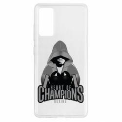 Чехол для Samsung S20 FE Heart of Champions