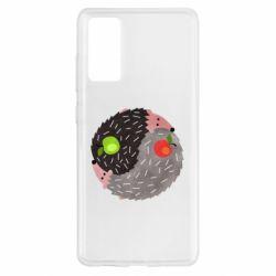 Чохол для Samsung S20 FE Hedgehogs yin-yang