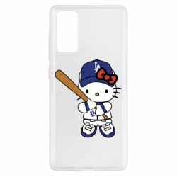 Чохол для Samsung S20 FE Hello Kitty baseball