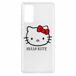 Чехол для Samsung S20 FE Hello Kitty