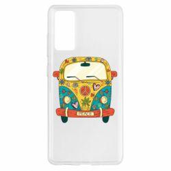 Чохол для Samsung S20 FE Hippie bus