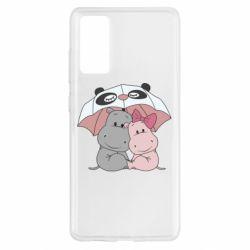 Чохол для Samsung S20 FE Hippos