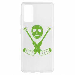 Чохол для Samsung S20 FE Хокейна маска